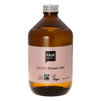 Fair Squared Shower Gel apricot 500ml