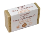 FINigrana Shea-Olivenseife orange