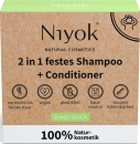 Niyok 2 in 1 festes Shampoo + Conditioner Green Touch