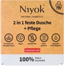 Niyok 2 in 1 feste Dusche + Pflege Intense Red